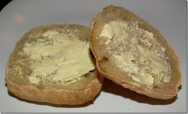 Buttered Ciabatta Roll