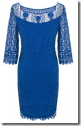 Kaliko blue lace dress