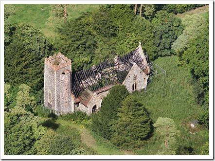 St Wandreg aerial