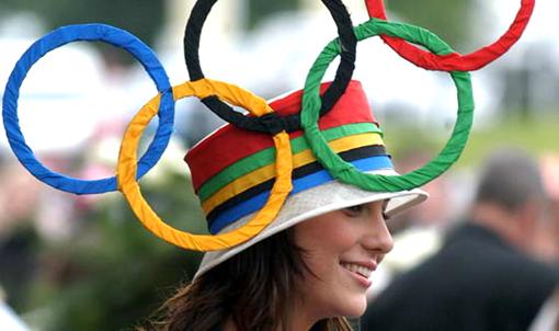 Олимпийская шляпка
