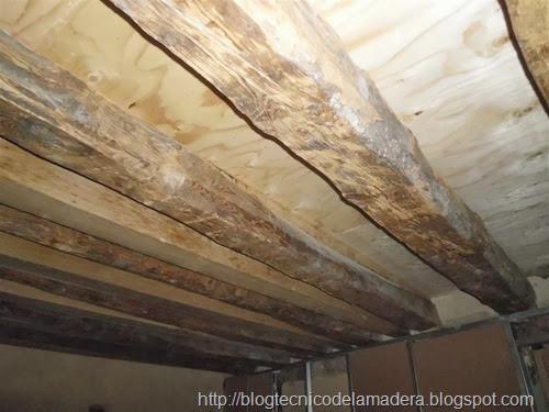 Intervencion estructuras de madera