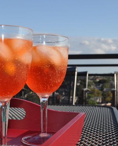 spritz on the roof
