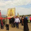 Крестный ход вокруг скита Св. Духова Тимашевского монастыря в честь чуда Михаила Архангела. Шиханы, Мостовской район на Кубани.