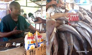 Au coeur du grand marché de Kinshasa