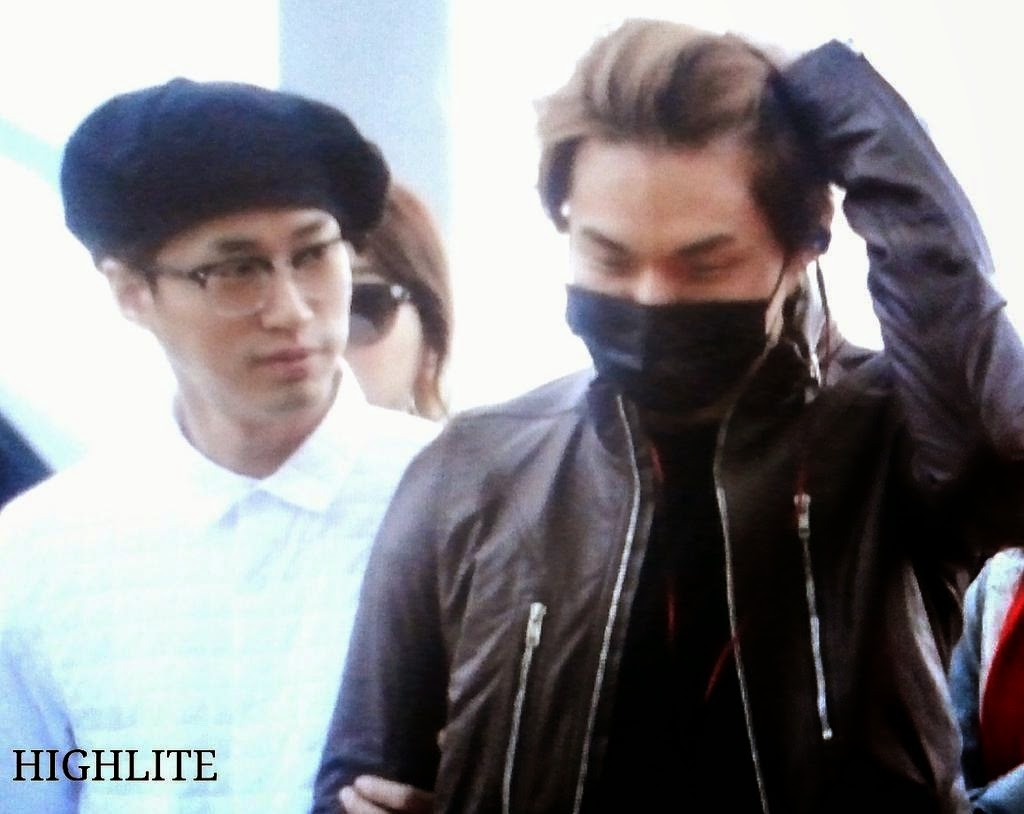 Big Bang - Incheon Airport - 24oct2014 - Dae Sung - Fansite - High Lite - 02.jpg