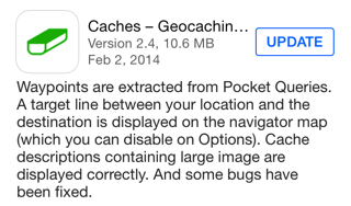 Caches version 2.4