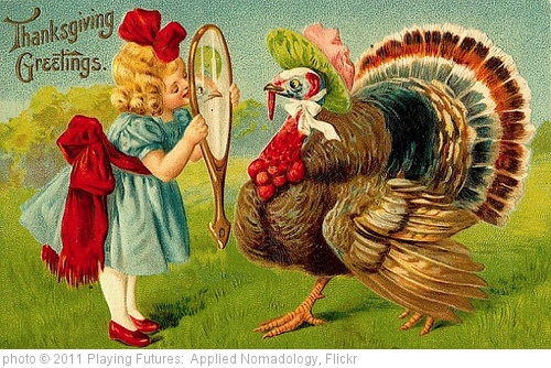 'Vintage Thanksgiving Greeting Card, c.1870' photo (c) 2011, Playing Futures:  Applied Nomadology - license: http://creativecommons.org/licenses/by/2.0/