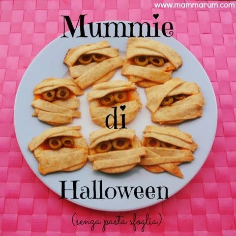 mummie di halloween vegan