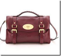Mulberry Alexa Burgundy