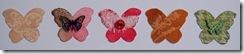 Butterflies Row One