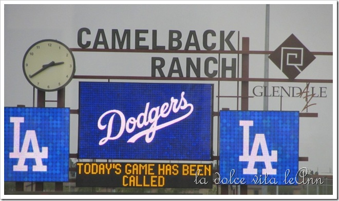 Camel Back Score board