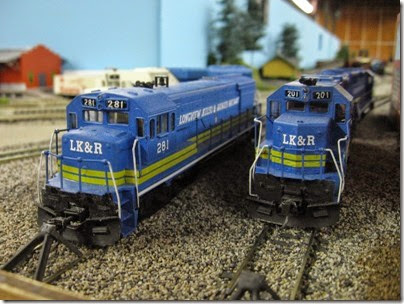 IMG_1032 LK&R Layout at GWAATS in Portland, OR on February 19, 2006