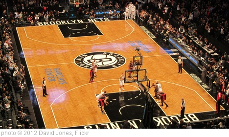 'Minnesota Timberwolves at Brooklyn Nets, Barclays Center, Brooklyn' photo (c) 2012, David Jones - license: http://creativecommons.org/licenses/by/2.0/