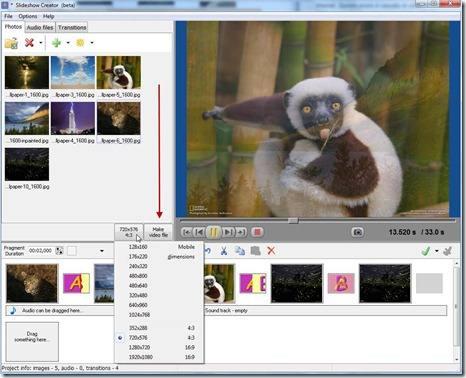 free-slideshow-creator