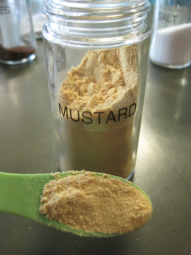 Add ground mustard powder for an extra- spicy kick.