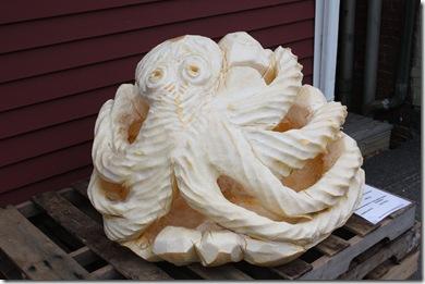 Octopus Pumpkin