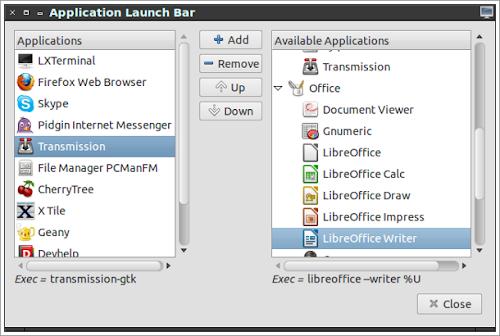 LXPanel 0.5.10