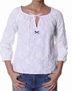 #329 Priceless blouse white