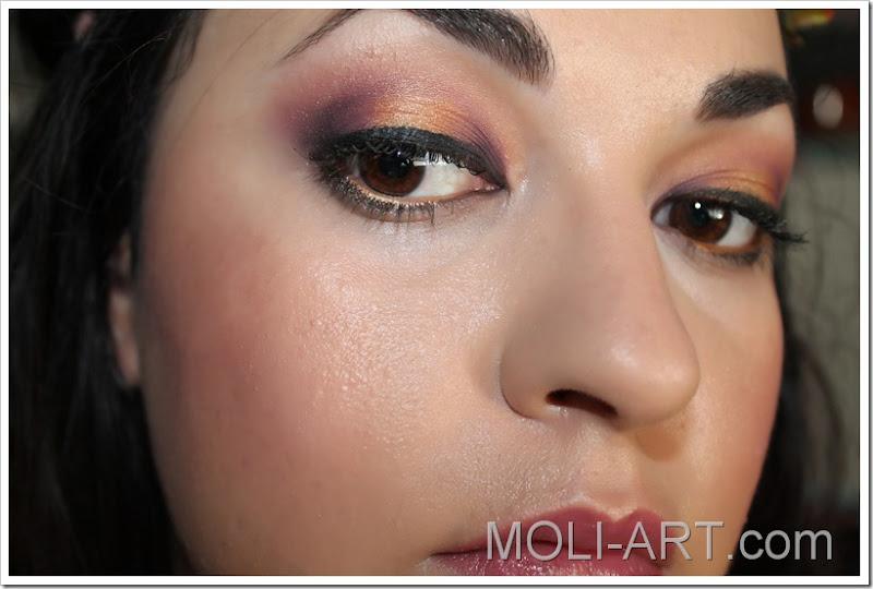 maquillaje-look-dorado-y-morado-granates