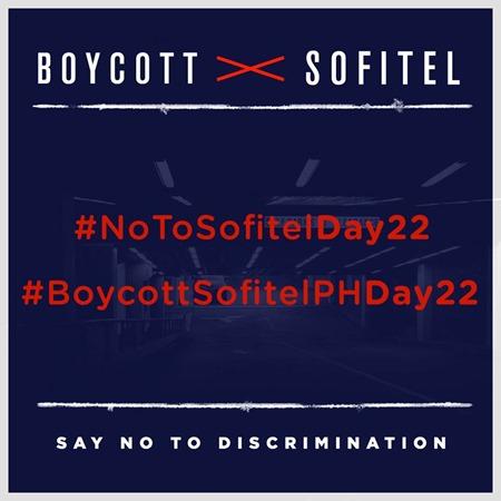 Boycott Sofitel Day 22
