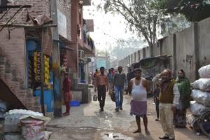 Delhi Camp Street Scene 006