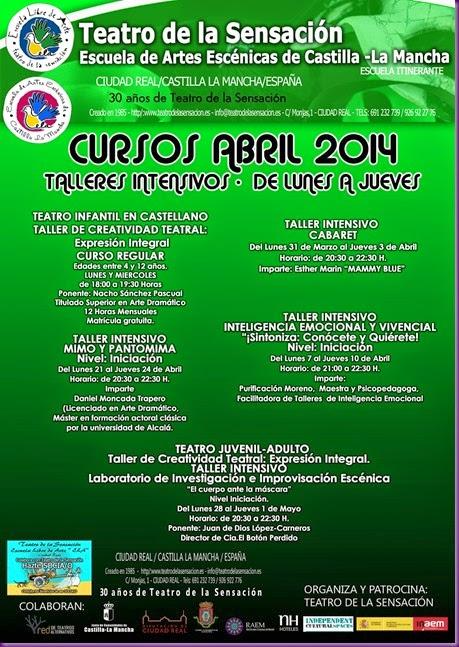 CURSOS ABRIL 2014-1