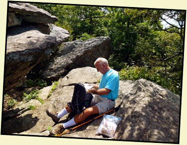 07k - Blood Mountain Summit - Lunchtime