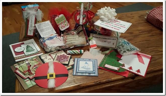 cards and neighborhood treats