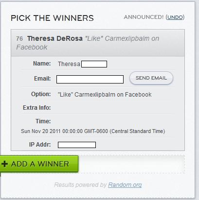 Carmex Winner