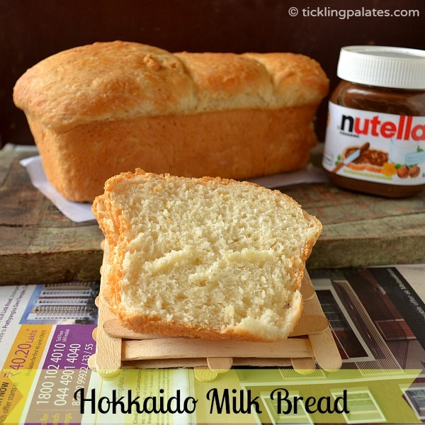 Eggless White Bread using Tangzong Method from tickling palates