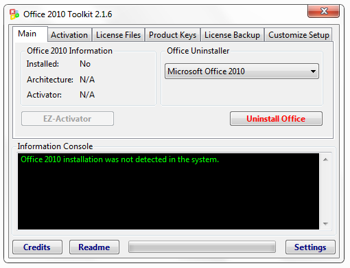 activator for microsoft office 2010