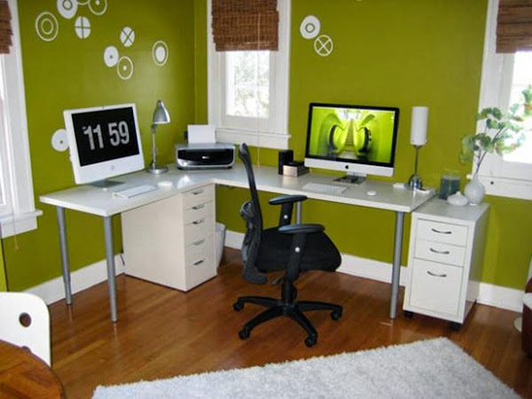 Office Decorating Ideas 124 Home Office Decorating Ideas
