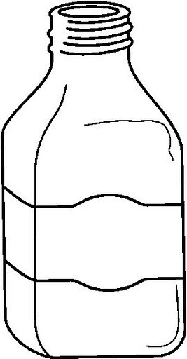BOTTLE COLORING PAGES