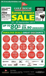Golf House Super Savings Sale 2013 Deals Offer Shopping EverydayOnSales