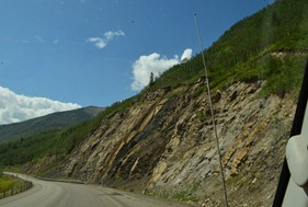coal seam near Grand Cache