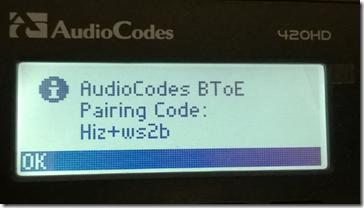 Kod parowania telefonu z aplikacją na komputerze