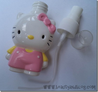 Review Hello Kitty Perfume Spray Atomizer Bottle Beauty Gadgets From BudgetGadgets.com
