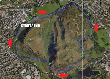 愛丁堡跑步路線
