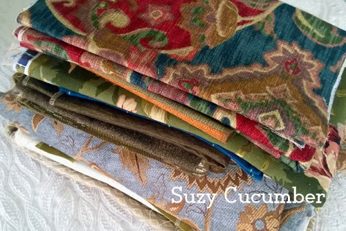 Suzy Cucumber's fabric stash