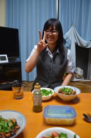 2013-08-19 Dinner with Kana 003