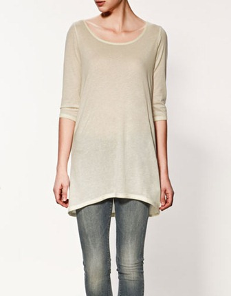 zara french sleeve