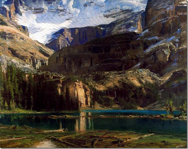 John-Singer-Sargent Lake O'Hara