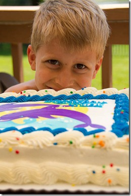 Miles' 6th Brithday Party - Kid Edition