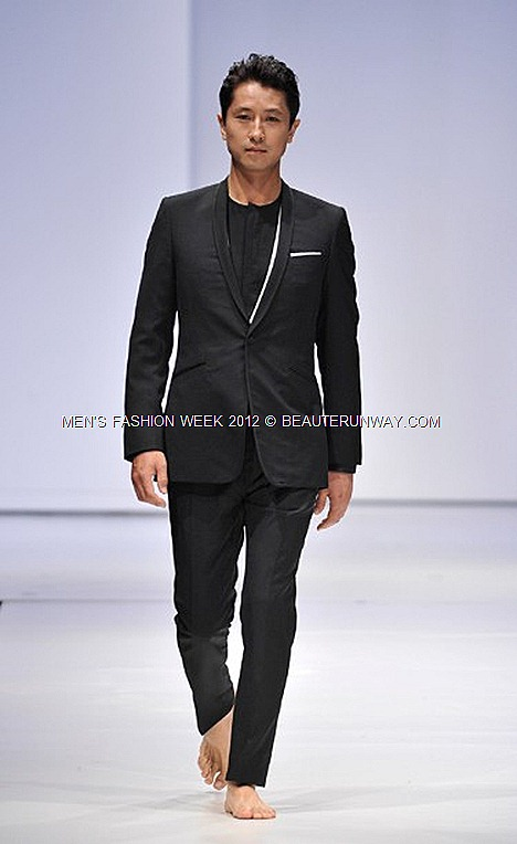 MEN'S FASHION WEEK SINGAPORE 2012 SPENCER HART NICK DESIGNERS CELEBRITIES MARINA BAY SANDS SONGZIO  K-POP DANIEL HENNEY SE7EN