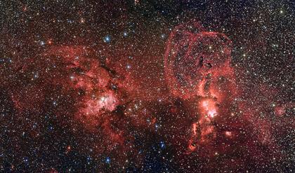 NGC 3603 e NGC 3576