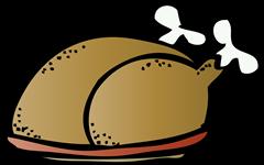 turkey platter melonheadz colored