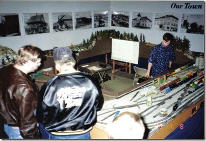 02 LK&R Layout at the Castle Rock Exhibit Hall on January 8, 1992