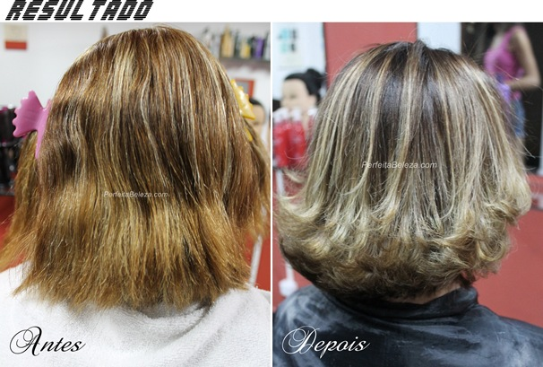 ombre hair passo a passo