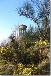 calton hill dugald stuart monumentt
