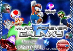 mario forever galaxy screenshot 1